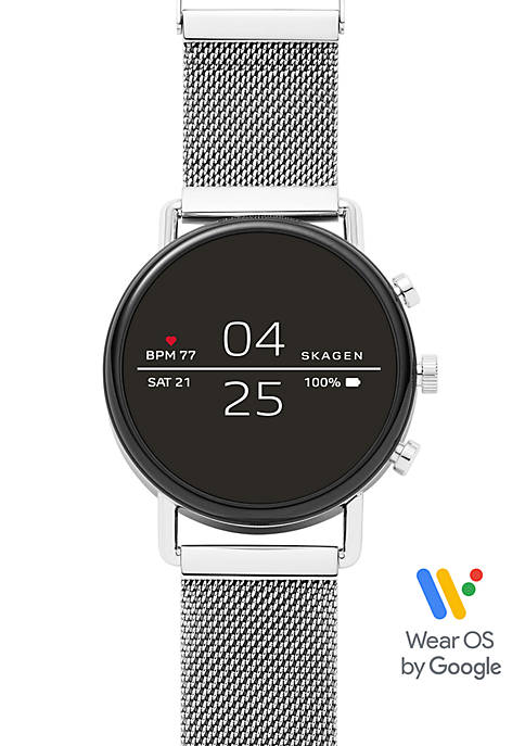 Skagen Falster 2 Magnetic Steel Mesh Smartwatch