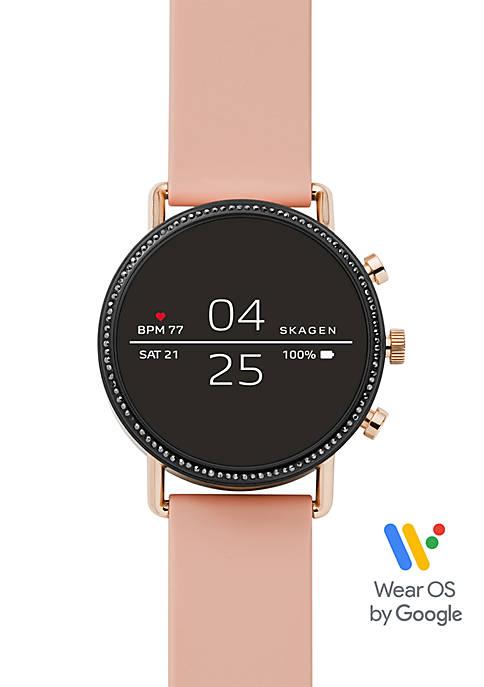 Skagen Falster 2 Blush Silicone Smartwatch