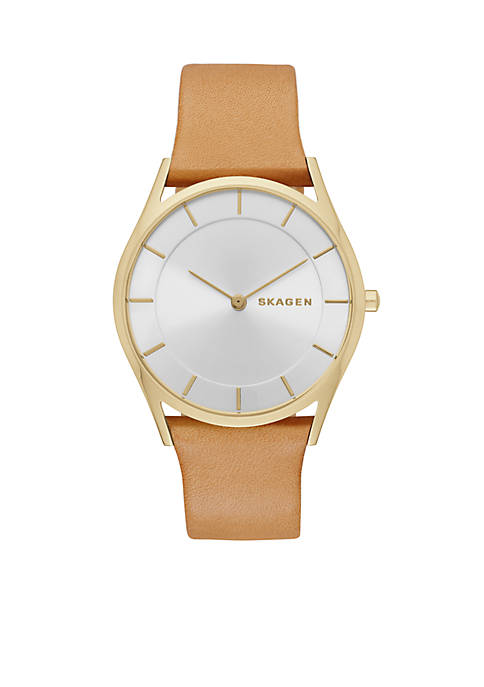 Womens Holst Sand Leather Two Hand Watch