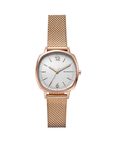 Womens Rungsted Mini Steel-Mesh Watch