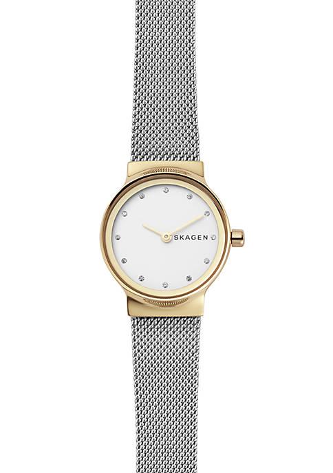 Womens Freja Two-Tone Steel-Mesh Watch