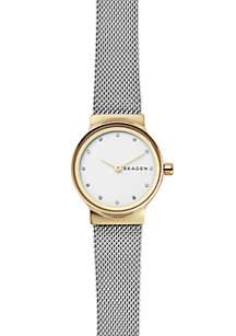 Women's Freja Two-Tone Steel-Mesh Watch