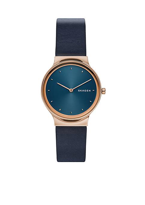 Freja Leather Watch