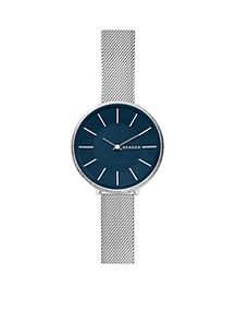 Women's Stainless Steel Karolina Silk-Mesh Watch