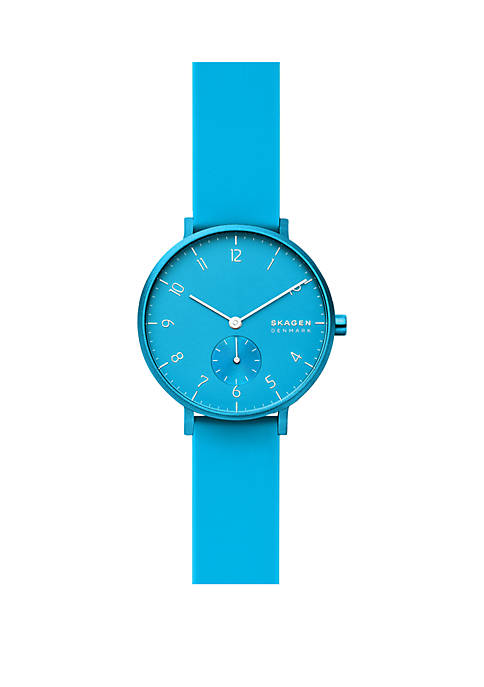 Skagen Aaren Kulor Silicone 36 mm Watch