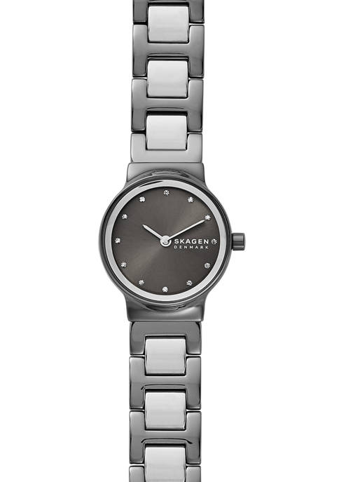 Womens Freja 2 Tone Link Watch