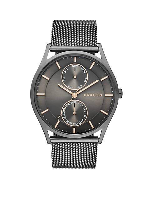 Skagen Holst Grey Mesh Watch