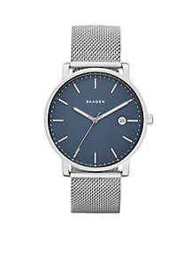 Men's Hagen Stainless Steel-Mesh Watch