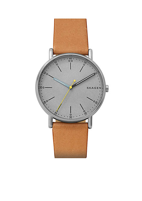 Signature Leather Watch