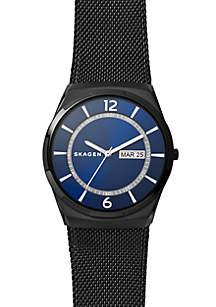 Men's Stainless Steel Melbye Black Mesh Watch