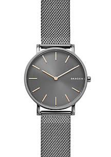 Men's Stainless Steel Hagen Slim Steel-Mesh Watch