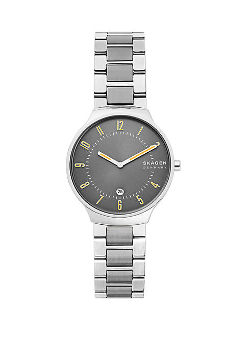 Skagen Grenen Slim Two Tone Steel Link Watch