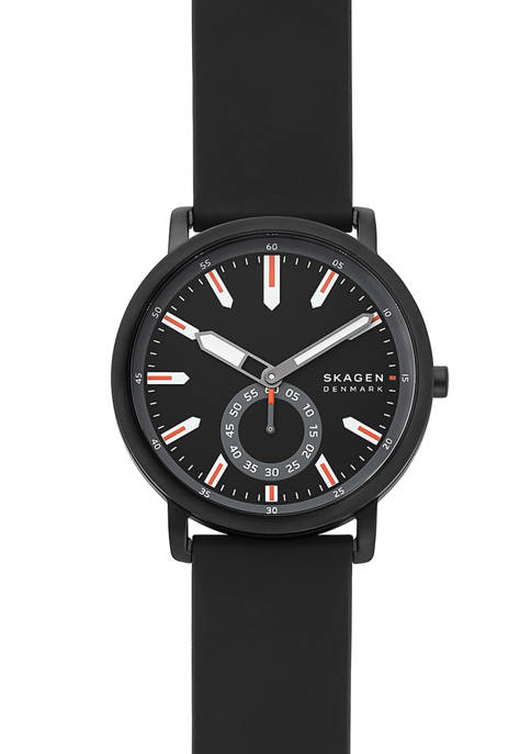 Colden Black Silicone Watch