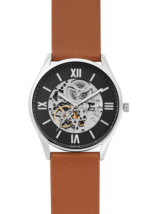 Mens Holst Brown Leather Watch