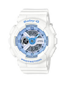 G-Shock Women s White Ana-Digi Watch  5f831f2eb