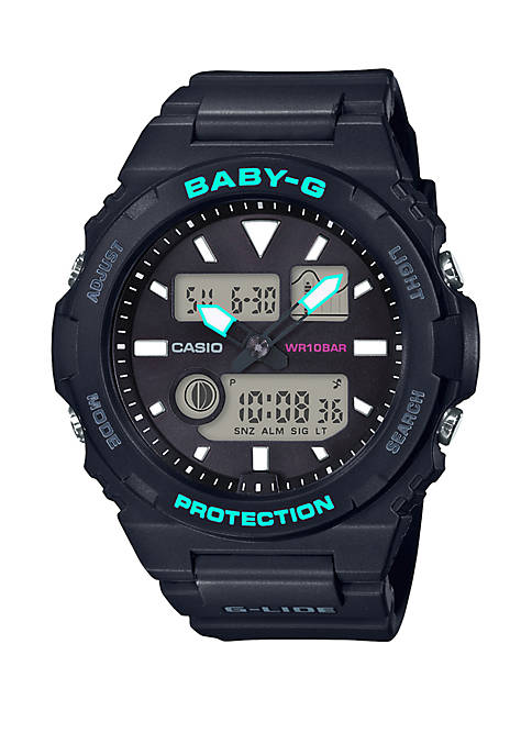 G-Shock Black Tide Graph Watch