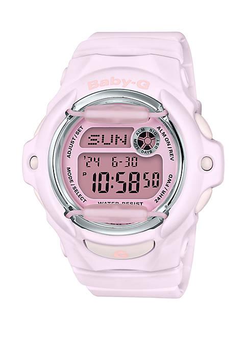 BABY-G Pink Rose Digital Watch