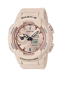 Baby-G Light Pink Face Ana-Digi Baby-G Watch