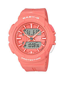 Baby-G Orange Runner Ana-Digi Watch