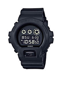Men's Blackout Classic Digital Watch