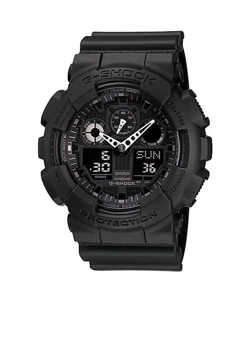 G-Shock Black Reverse LCD XL Ana-Digi Watch