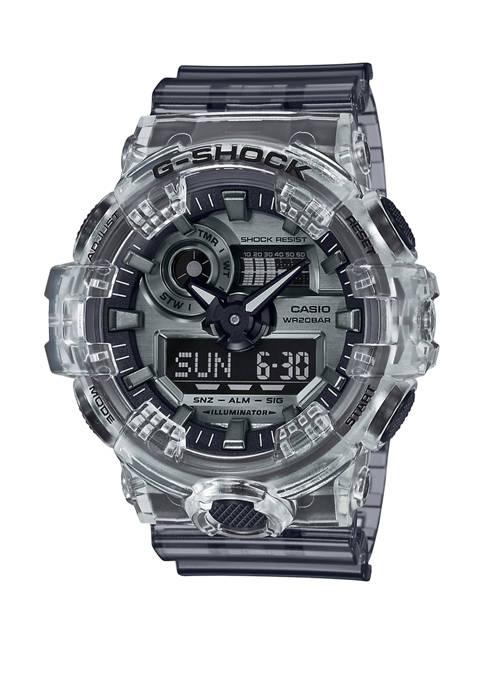 G-Shock Mens Smoke Gray Analog Dial Watch