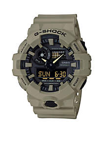 Men's G-Shock Ana-Digi Khaki Sport Watch