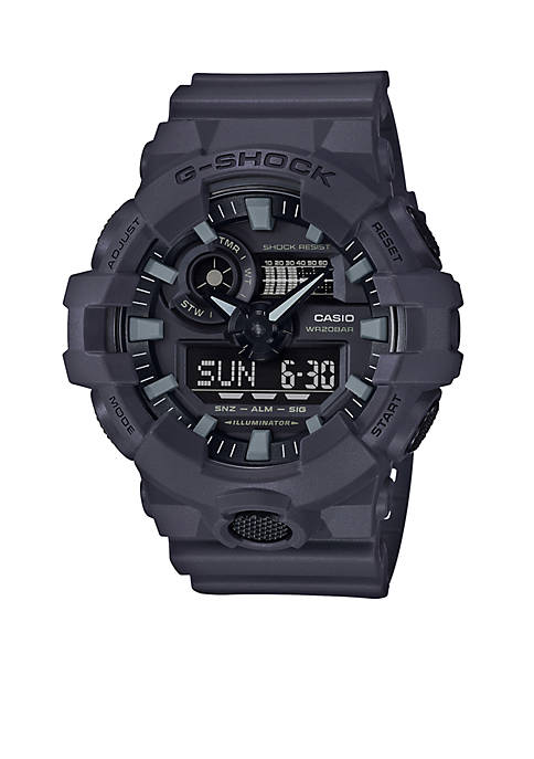 Mens G-Shock Ana-Digi Dark Gray Sport Watch