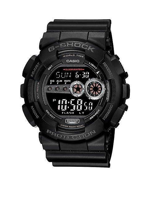 XL Digital G-Shock Black
