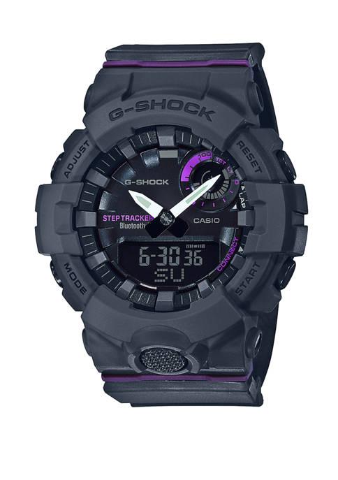 G-Shock Womens Grey Analog Trainer Watch
