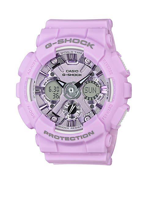 G-Shock Light Purple Ana Digital S Series Watch