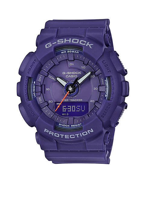 Womens Purple Ana-Digi Step Tracker S-Series Watch