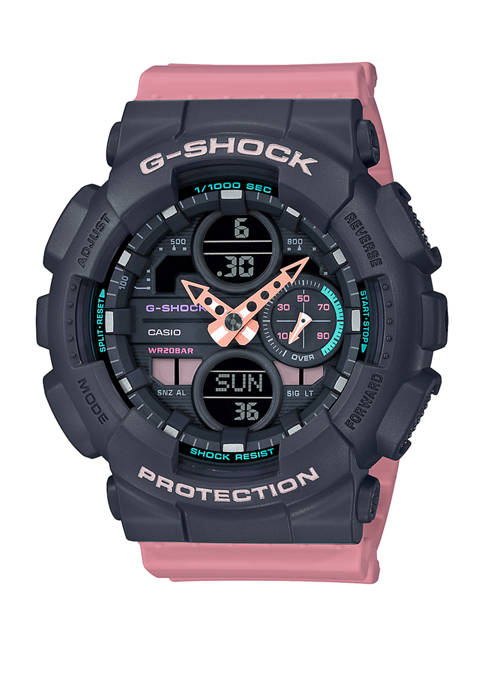 G-Shock Womens Pink Band Analog Digital Watch