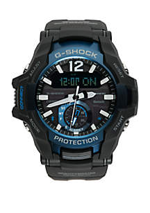 Mens GravityMaster Ana-Digi Bluetooth® Enabled Resin Strap Watch