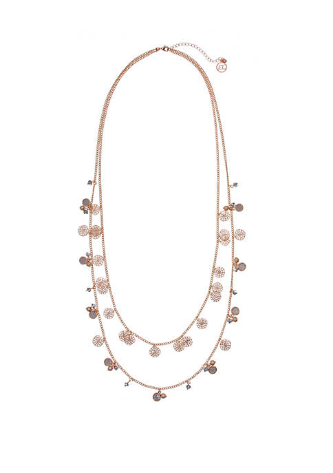 Long 2-Row Necklace
