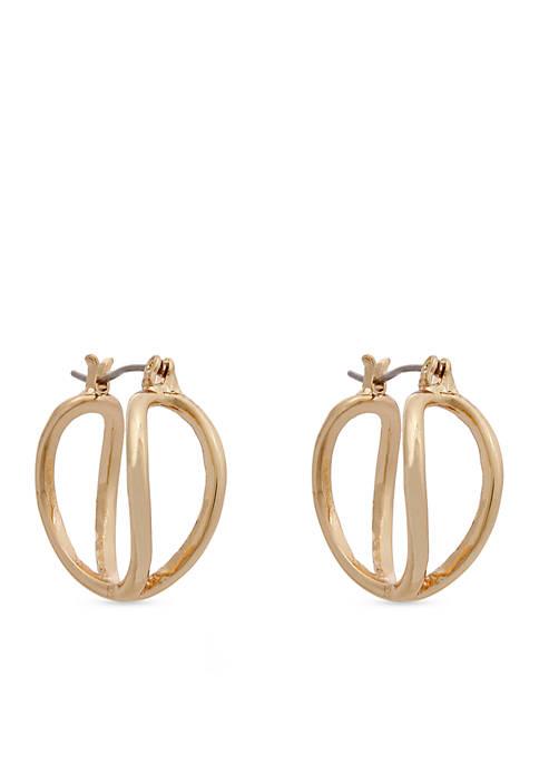 Erica Lyons Double Hoop Earrings