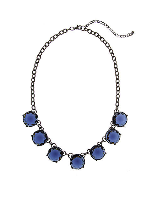 Erica Lyons Jeweled Statement Necklace