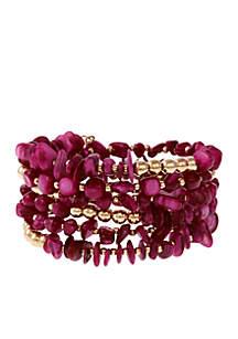 Multi Coil Bracelet