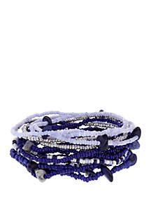 Seed Bead Stretch Bracelet