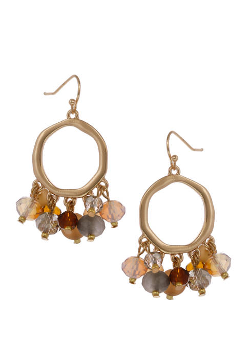 Erica Lyons Bead Dangles Drop Earrings