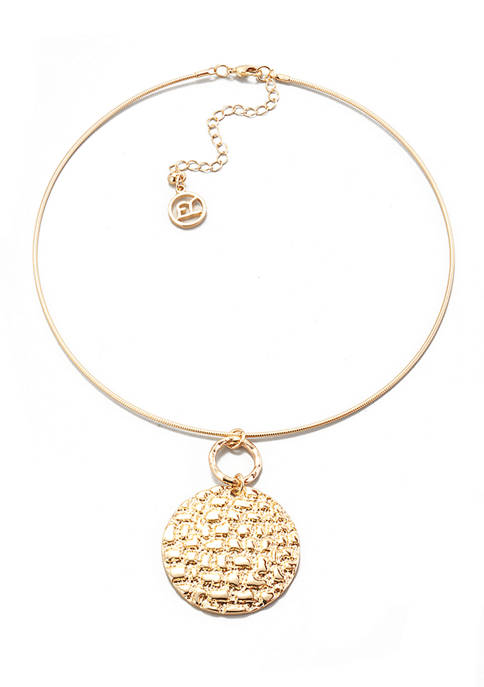 Neck Coil Necklace
