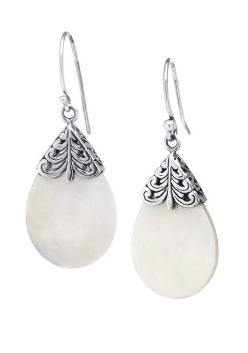 Belk Silverworks Sterling Silver Bali Mother of Pearl