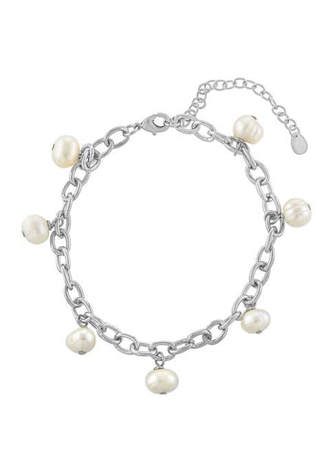 Belk Silverworks Fine Silver Plated 7 Freshwater Pearl