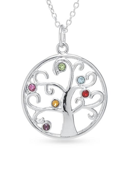 Belk Silverworks Fine Silver Plated Tree of Life