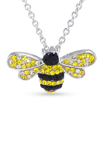 Belk silverworks silver plated bumble bee pendant boxed necklace belk belk silverworks silver plated bumble bee pendant boxed necklace aloadofball Images