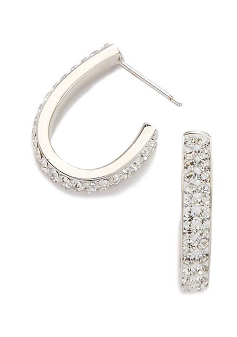 Belk Silverworks 19.5 Millimeter Fine Silver Plated Crystal