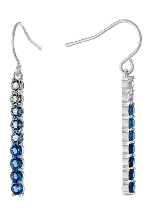 Belk Silverworks Fine Silver Plated Blue Multi Fine