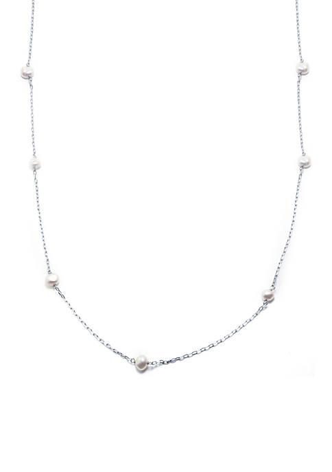 Belk Silverworks Fine Silver Plated Fresh Water Pearl