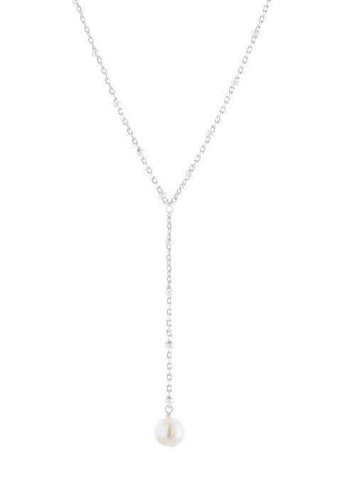 Belk Silverworks Fine Silver Plated Freshwater Pearl 2
