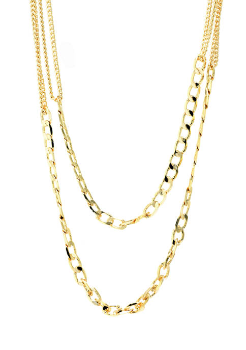 Belk Silverworks Gold Plated Fine Silver Two Layered